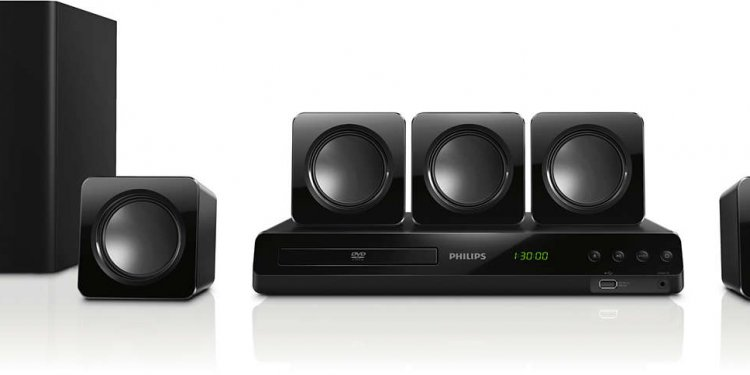 Powerful surround sound from