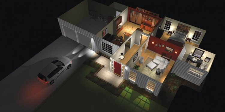 Automated smart home lighting
