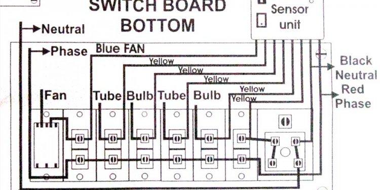 Neon Gate Switch Remote
