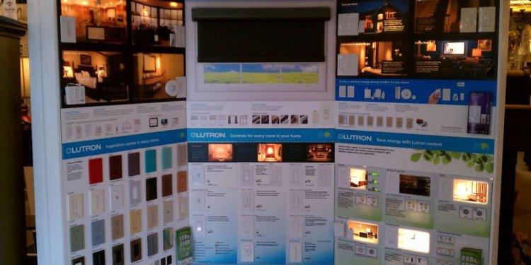 Interactive Lutron Display at
