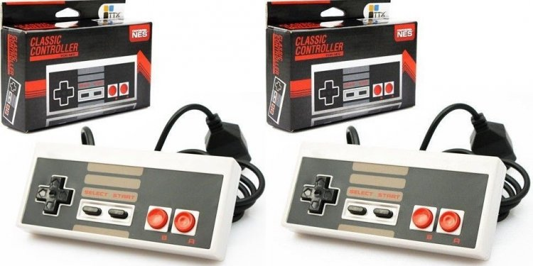 2 NEW TTX CLASSIC CONTROLLERS