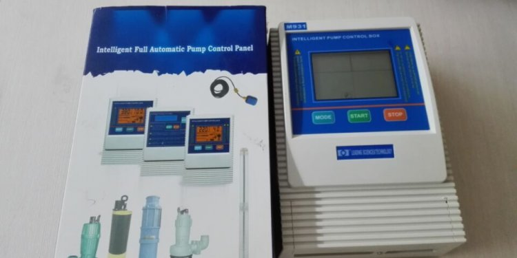 Pump Control Panel for
