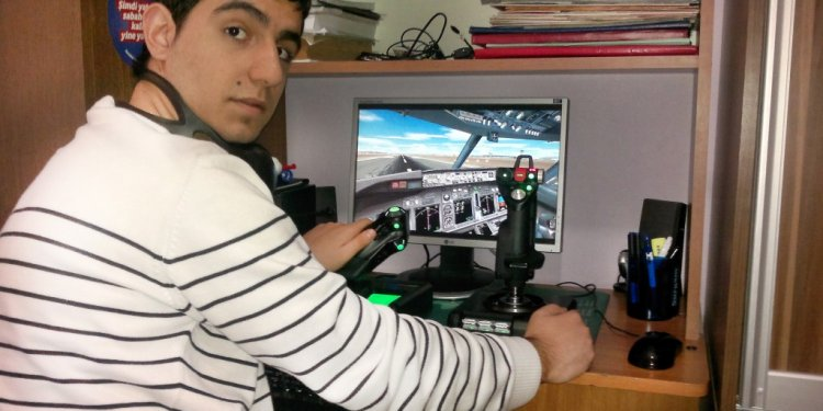 X52 Pro Flight Simulator
