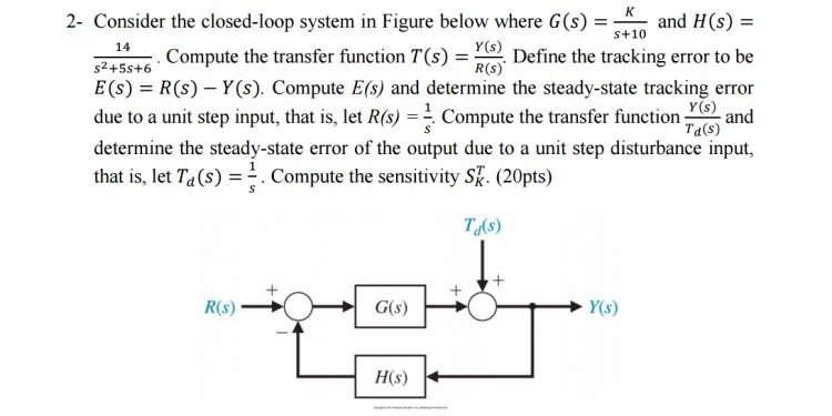 Define closed loop system
