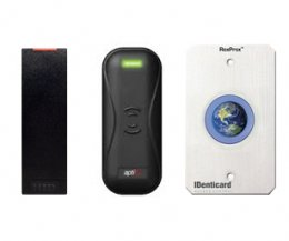 A selection of the card readers IDenticard offers for purchase