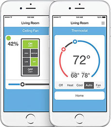 Control your home from your iPhone, iPad and iPod touch