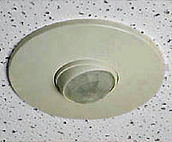 Example of a ceiling-mounted occupancy sensor