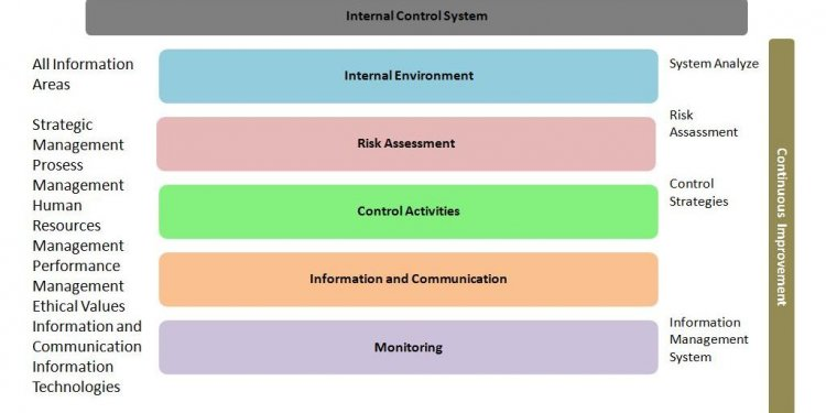 Scope of internal control system