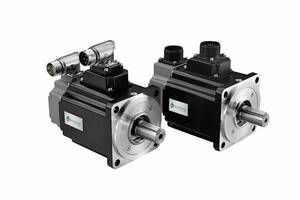 Servo motors such as these are used for a variety of demanding industrial automation applications. Courtesy: Servotronix