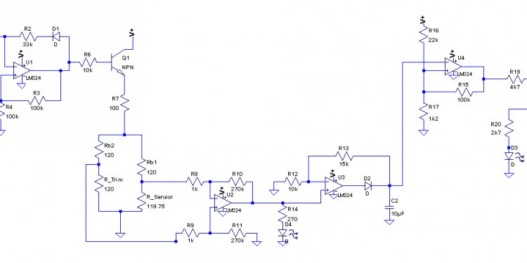 Temperature control system block diagram