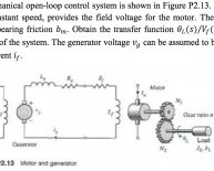 Explain open loop control system