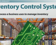 Inventory control system Examples